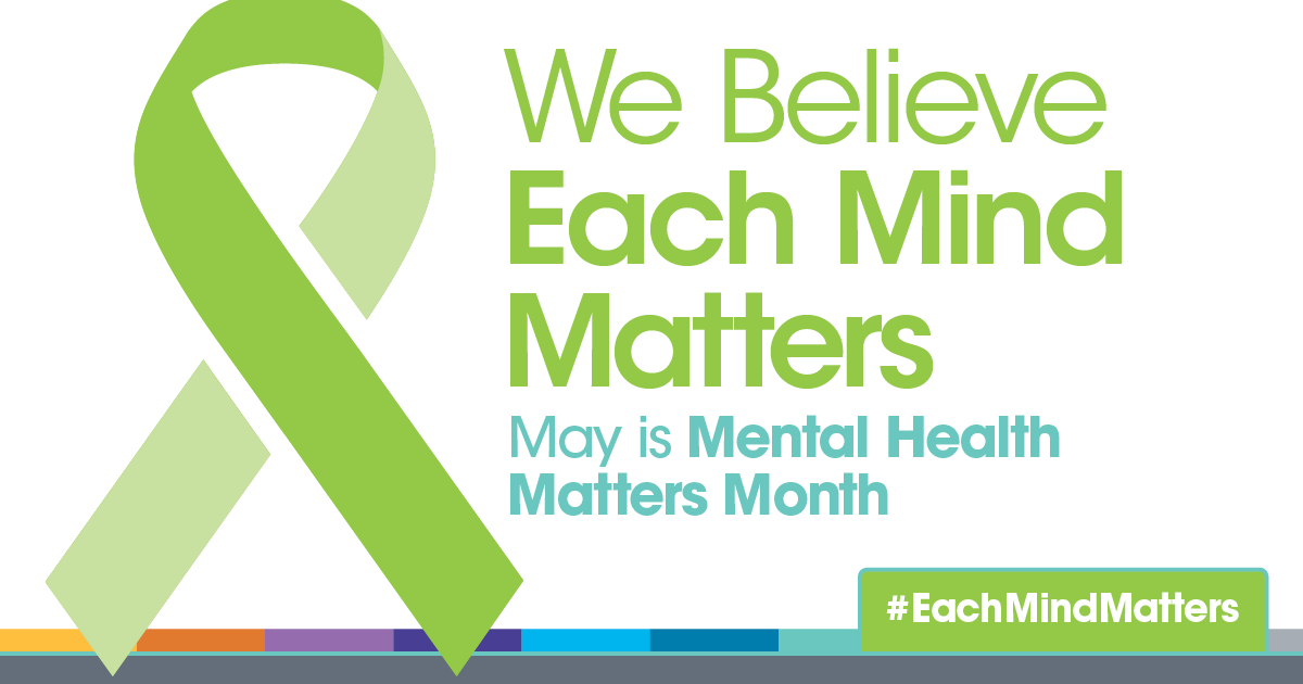 Image result for pictures of 2018 mental health awareness month